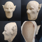 Zirben Masken Rohling